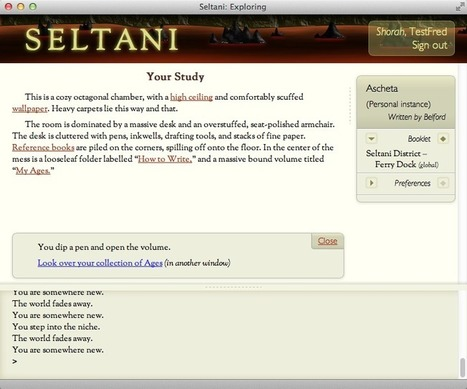 Seltani: An Introduction | Interactive Fiction and Digital Game-based Learning | Scoop.it