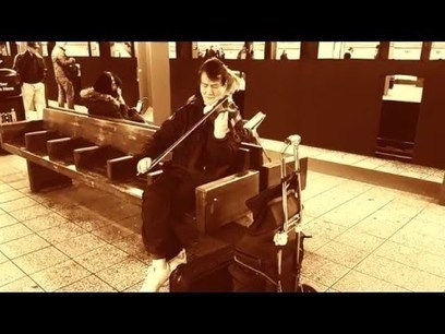 Violinist, Street Musician Performing in New York City Subway - Street I Am   busking   Scoop.it