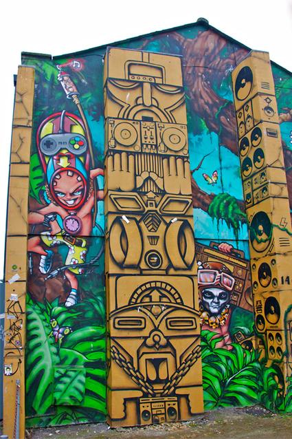 Street Art of Brighton: Kensington Street | Art! | Scoop.it