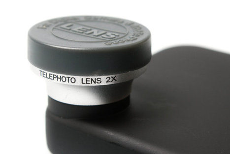 USB Fever 2x Telephoto Lens For iPhone | Technology and Gadgets | Scoop.it