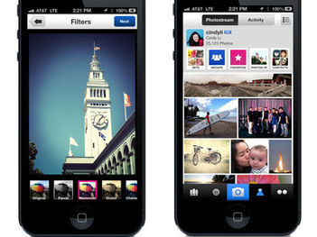 Flickr App Goes After Instagram - ABC News | Digital Culture Class 2012 | Scoop.it