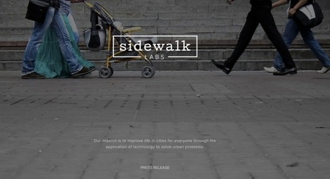 Sidewalk Labs is launched by Google | Smart grid | Scoop.it
