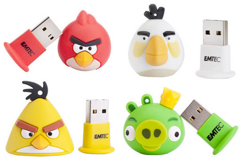 Angry Birds Flash Drives Look More Cute Than Angry | All Geeks | Scoop.it