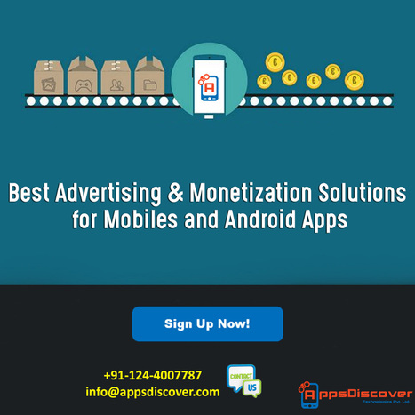 A Best Mobile Advertising Network – AppsDiscover Technologies | Mobile Advertising Network | Scoop.it