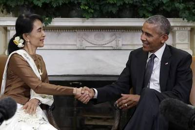 U.S. Formally Ends Sanctions on Myanmar