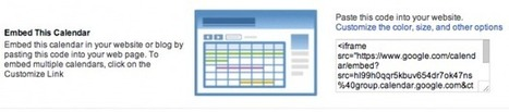 5 Tips to get Organized with Google Calendars | Social Media Headlines | Scoop.it