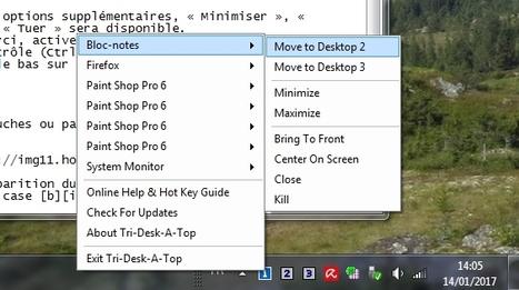 Tri-Desk-A-Topvous offre trois postes de travail virtuels | Chroniques libelluliennes | Scoop.it