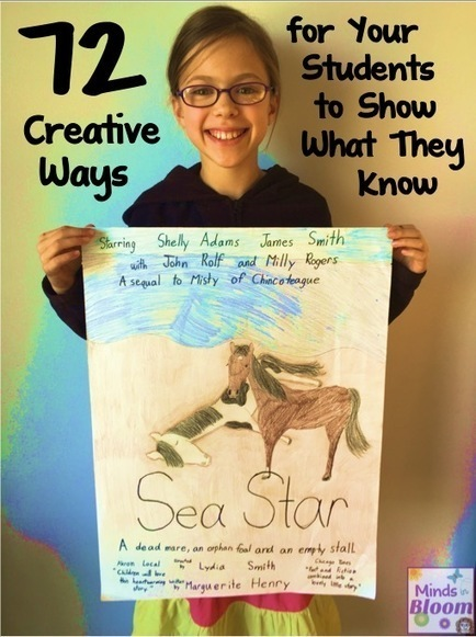 72 Creative Ways for Students to Show What They Know - Minds in Bloom | Differentiated Instruction | Scoop.it