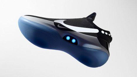 5daf46db9e4 Nike dévoile ses nouvelles baskets autolaçantes