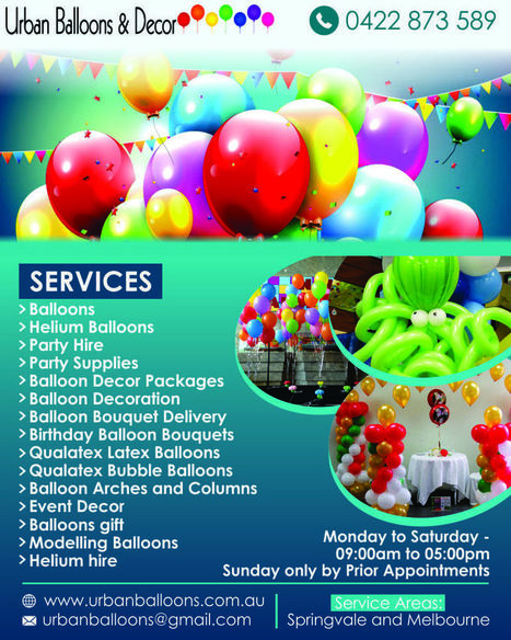 Urban Balloons And Decor