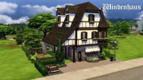 39 l 39 hermitage de mathoo 39 in les sims for Maison moderne sims 4