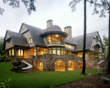 Sumptuous Fairytale House Inspired by the Natural Landscape | Extreme Architecture | News, E-learning, Architecture of the future at news.arcilook.com | Architecture news | Scoop.it