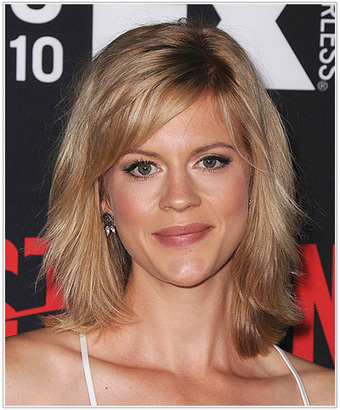 Celebrity\'s hairstyles with bangs | Lates...