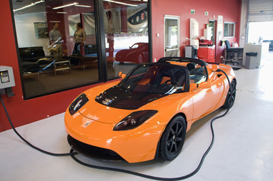 Tesla Roadster electric car   cars and motor   Scoop.it