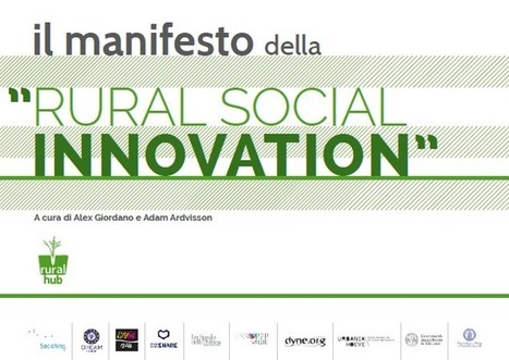 Manifesto della Rural Social Innovation - Rural Hub | Social Innovation - Innovazione Sociale | Scoop.it