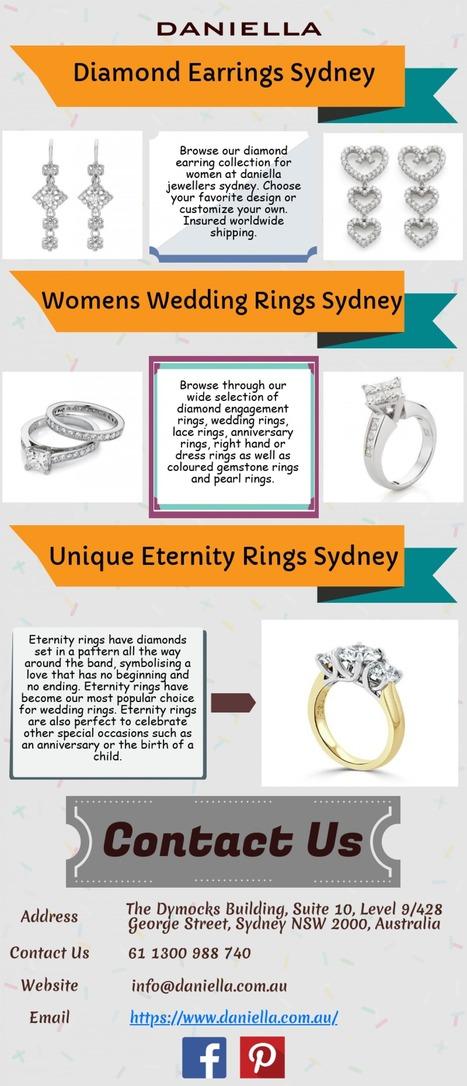 Womens Wedding Rings Sydney Daniella Jeweller