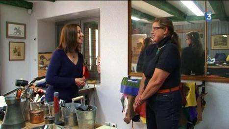 Rencontre avec Lydie Gallet, maroquinier à Lavausseau (86) | Métiers, emplois et formations dans la filière cuir | Scoop.it