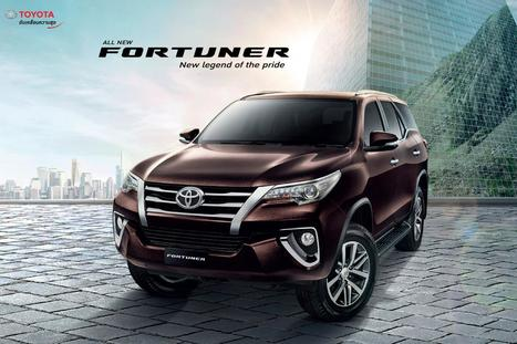 All New 2016 Toyota Fortuner Officially Unleash