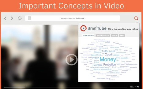 BriefTube - Instant video summarizer for Youtube | Visioni e Linguaggi | Scoop.it