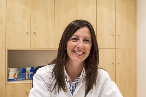 """Spain: Dr Anabel Salazar, fertility expert, transitioned from no smartphone to near """"geekdom"""" in the interest of her patients. #doctors20 