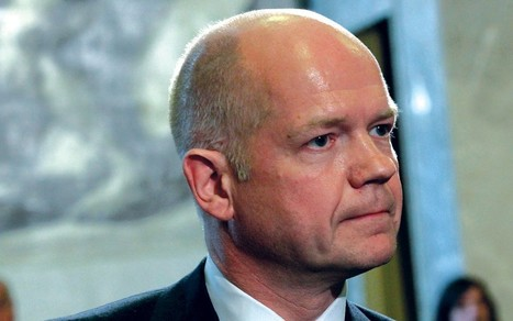 William Hague warns 'no hiding place' for Syrian 'torturers'  - Telegraph | The Fight Against Torture | Scoop.it