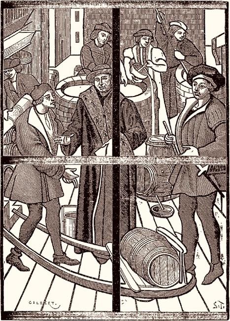 Brasseurs : un métier réglementédès le XIIIe siècle | Passé Simple | Scoop.it
