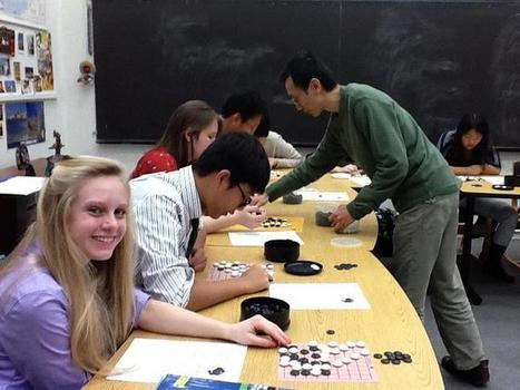 Future Teachers Learn About Go « American Go E-Journal | Go, Baduk, Weiqi ~ Board Game | Scoop.it