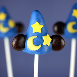 Sorcerer's Hat Cake Pops | Food | Disney Baking Recipes | Scoop.it