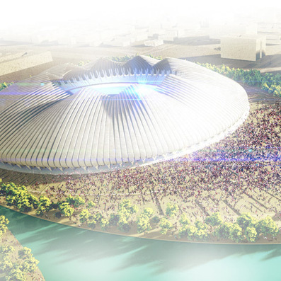 Weston Williamson unveils shape-shifting stadium for Brasilia | Film, Art, Design, Transmedia, Culture and Education | Scoop.it