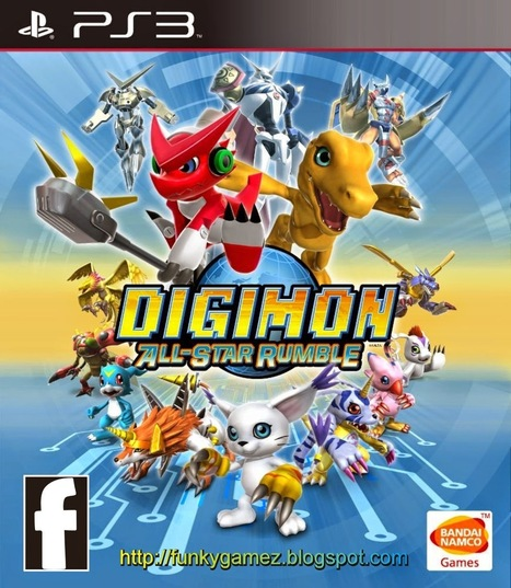 Digimon All Star Rumble | PS3 ISO | Free Downlo