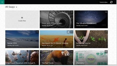Sway – Microsoft Store | Apps and Widgets for any use, mostly for education and FREE | Scoop.it