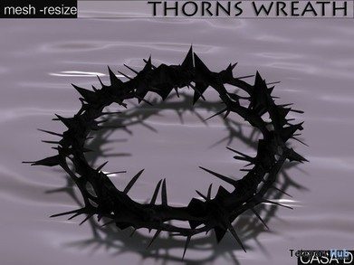 Thorns Wreath Gift by roOC Nexen's Casa Diabolica | Teleport Hub - Second Life Freebies | Second Life Freebies | Scoop.it
