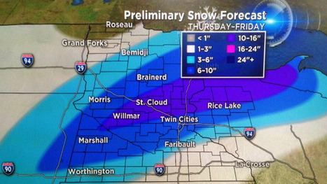 April Snowstorm Could Be A RecordBreaker - CBS Minnesota | txwikinger-news | Scoop.it