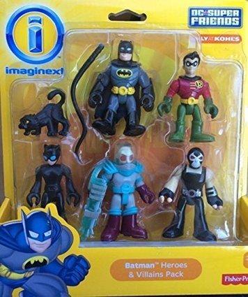 Mr Freeze Marvel Super Hero Squad Friends Figure 1 of 2 Imaginext DC