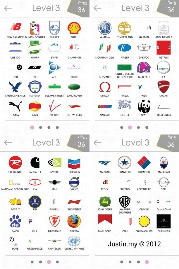 Logos Quiz Answers Level 3 | Android Apps Shar...