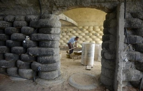 Construire des « igloos » antisismiques à partir de pneus usagés | Solutions alternatives pour un monde en transition | Scoop.it