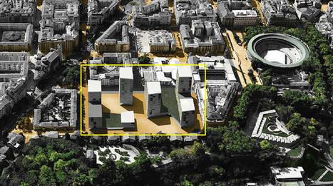 Plan Salesianos: un centro cívico, una calle peatonal, dos plazas, un espacio comercial y viviendas de entre 7 y 17 alturas | Ordenación del Territorio | Scoop.it