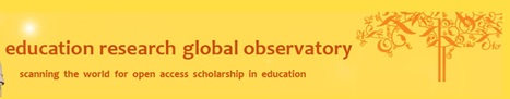 Directory of Open Access Journals in Education from the Education Research Global Observatory | Library collections for learning | Scoop.it