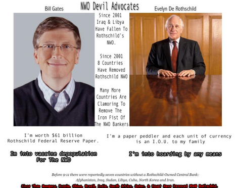 Rothschild Czar Bill Gates To Face Trial In India: Millions Of Children Poisoned By Vaccine! | DESTROYING OUR HEALTH | Scoop.it
