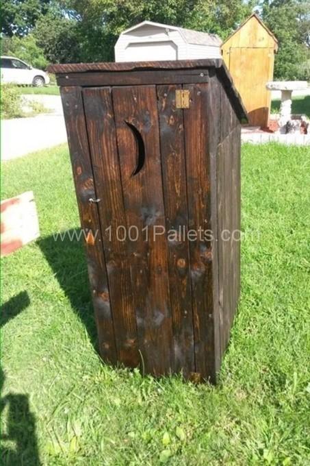 Pallet Garden Outhouse 1001 Pallets Ideas