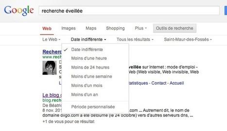 Le blog de Recherche-eveillee.com: Google.fr adopte la version simplifiée des pages de résultats   Les moteurs de recherche pour ... tous   Scoop.it