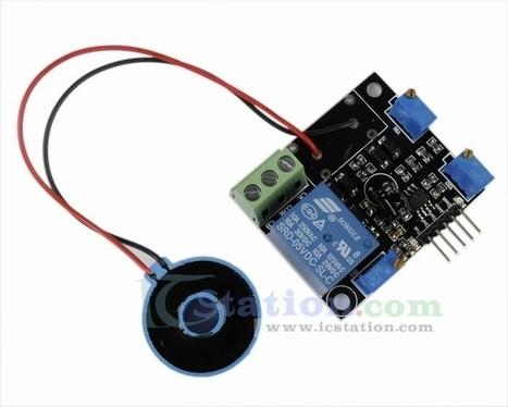 Current Detection Sensor Module 50A AC Short-Ci