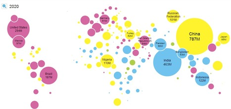 Unicef Urban Population Map | Education for Sustainable Development | Scoop.it