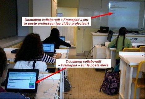 Framapad de plus en plus utilisé dans l'éducation - Framablog | Fatioua Veille Documentaire | Scoop.it
