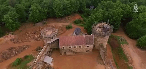 Meet the People Building a Medieval Castle Without Using Any New Technology | Strange days indeed... | Scoop.it
