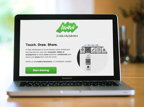 Aww, una pizarra web para trabajo en equipo | AgenciaTAV - Asistencia Virtual | Scoop.it