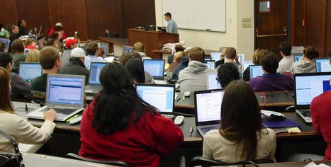 Online in de collegezaal, maar mentaal offline? | Onderwijs, ICT, Internet | Scoop.it