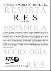 Revista Española de Sociología | Revistas sociología y criminología | Scoop.it