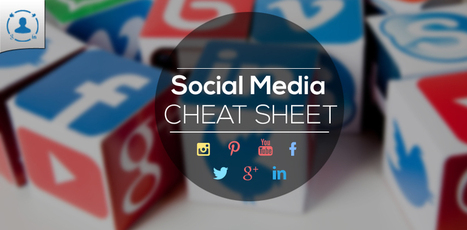 Social Media Design Cheat Sheet 2014 (Infographic) | Social Media Measurement, Analytics & ROI | Scoop.it
