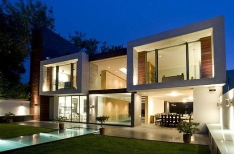 Casa V by Serrano Monjaraz Arquitectos   sustainable architecture   Scoop.it